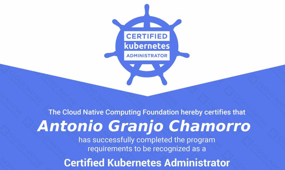 CKA-Certified-Kubernetes-Administrator-Antonio-Granjo