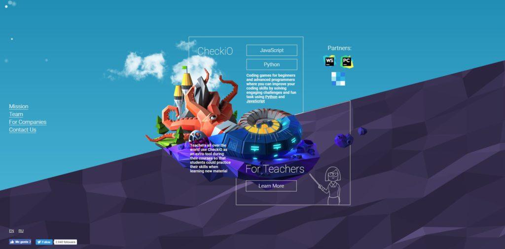 Videojuegos para aprender a programar: CheckiO