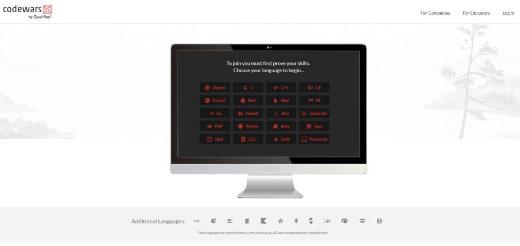 Videojuegos para aprender a programar: CodeWars