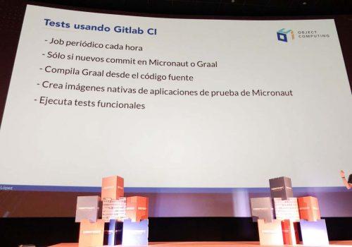 Slide: Tests usando Gitlab CI