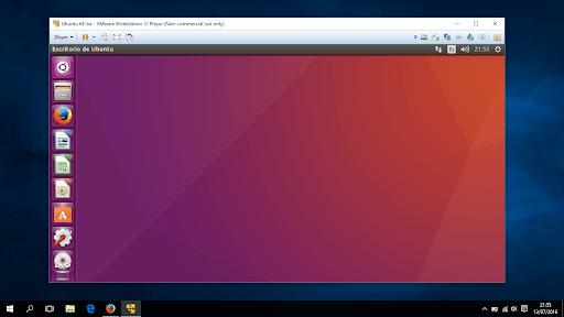 Ejecutar una máquina virtual con Linux desde un equipo con Windows