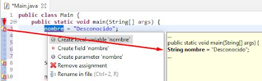 Ejemplo de tipado fuerte en Java