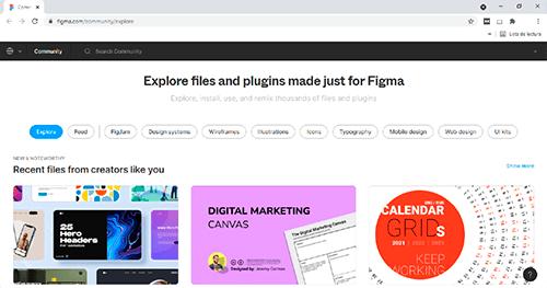 Encontrar plugins de Figma