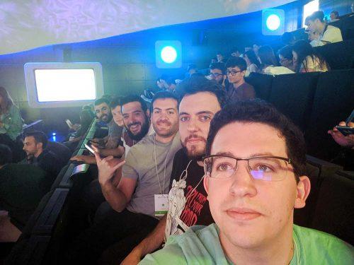 El equipo de Profile Sevilla en DevFest