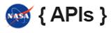 Logo de { NASA APIs }