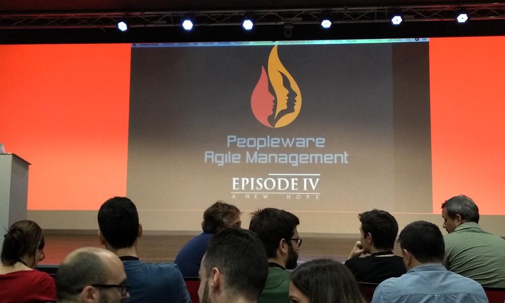 Escenario de Peopleware Agile Management 2018