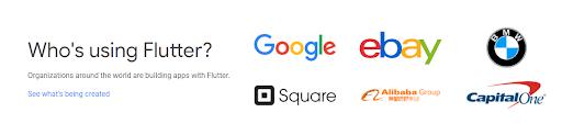 Empresas que utilizan Flutter