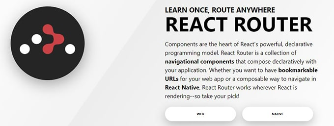 React Router DOM, librería por excelencia para crear la navegación de nuestra Single Page Application en React