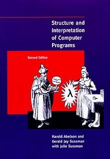 Portada de Structure and Interpretation of Computer Programs