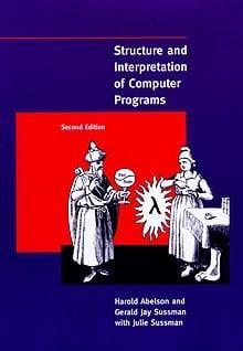 Libros para desarrolladores y programadores: Portada de Structure and Interpretation of Computer Programs
