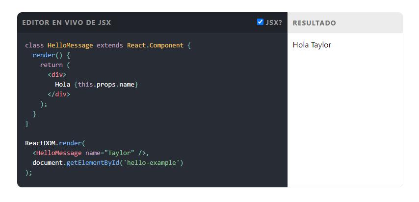 librerías JavaScript react js