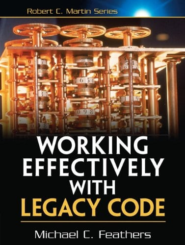 Libros para desarrolladores de software: Portada de Working effectively with Legacy Code