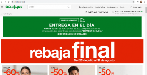 Tipos de desarrollo de aplicaciones web: e-commerce