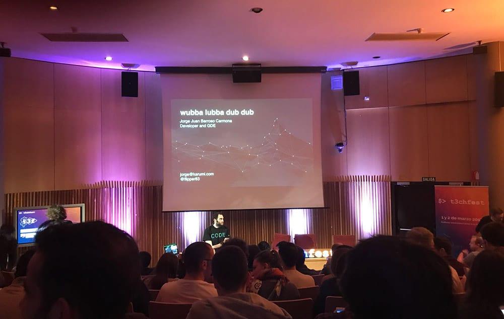 Charla de Jorge Barroso en T3chfest