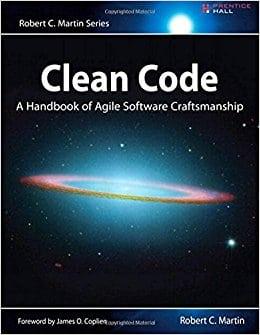Libros para desarrolladores y programadores: Portada de Clean Code