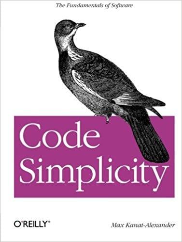Libros para programadores: Portada de Code Simplicity