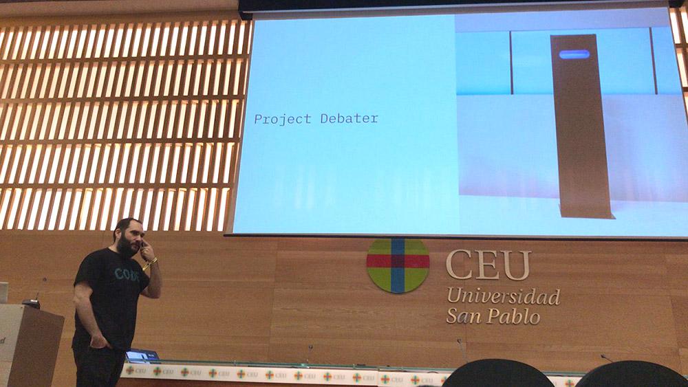 Jorge Barroso en su charla de Commit 2018