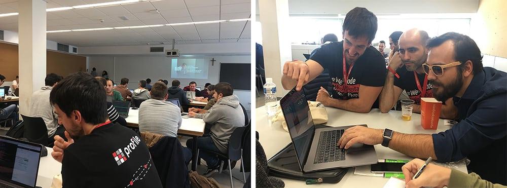 workshops de desarrollo IT en Codemotion Madrid