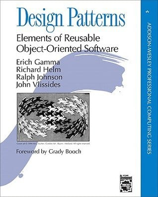 Portada del libro Design Patterns