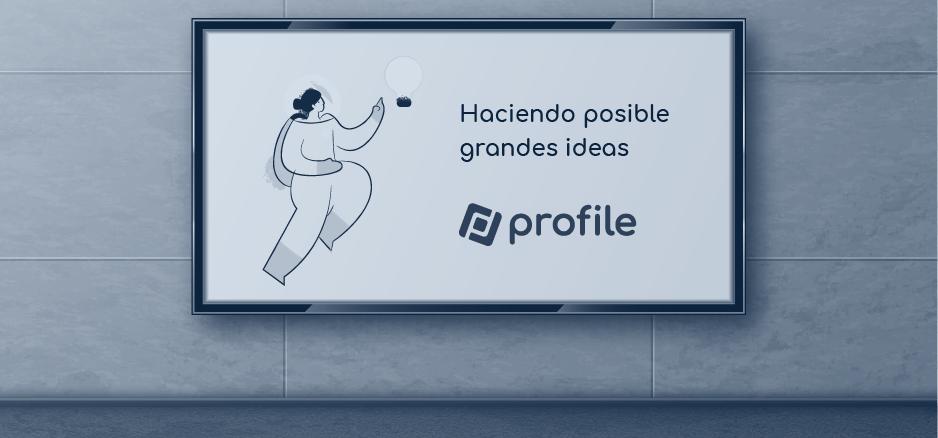 rebranding de Profile