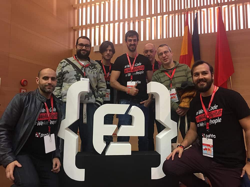El equipo de arquitectura de Profile en Codemotion Madrid