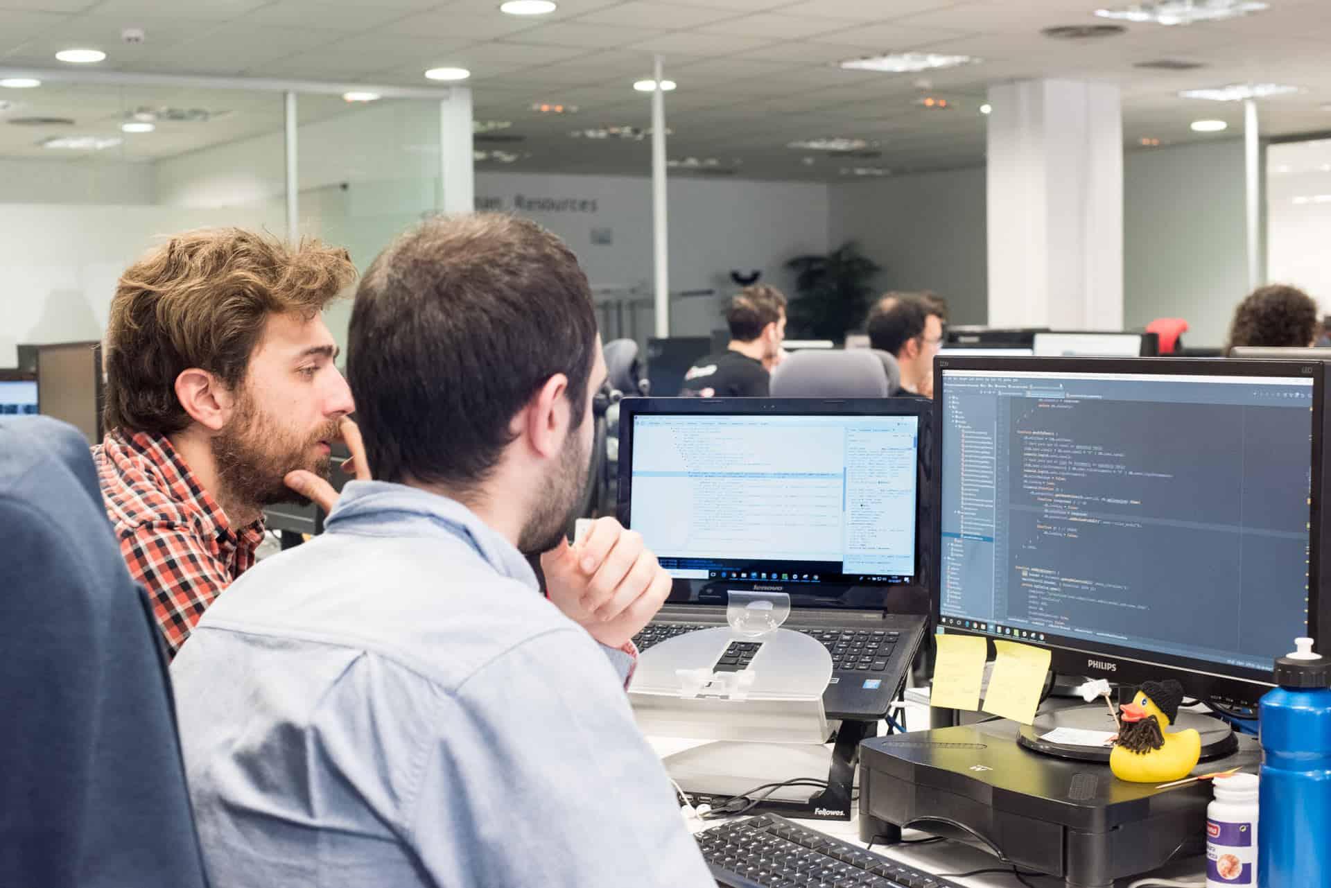 Última tecnología y programación en la oficina de Profile Madrid