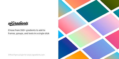 ui gradients Plugin Figma