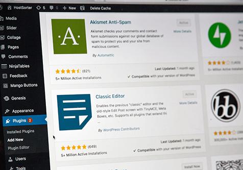 Tipos de desarrollo de aplicaciones web: WordPress